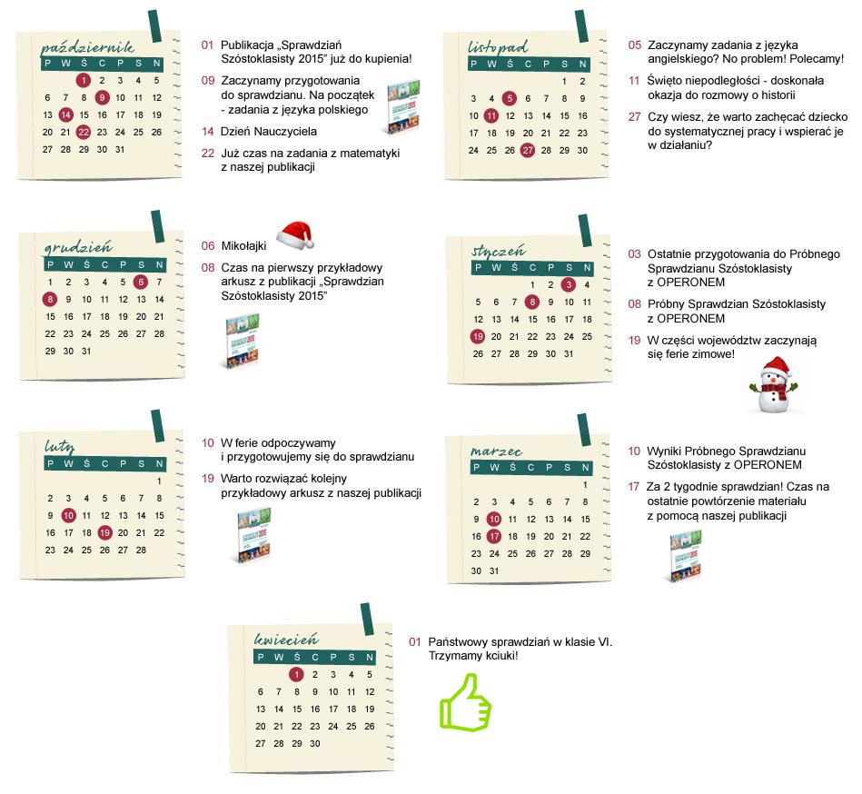 kalendarz przygotowań do matury chemia