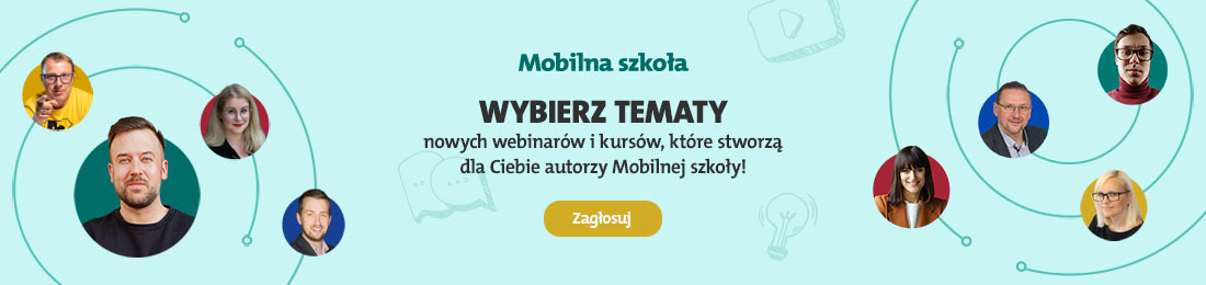 baner mobilna lekcja