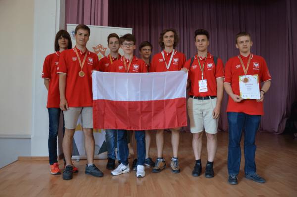 uczestnicy VI Baltyckiej Olimpiady Geograficznej duze