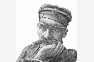 rysunek jozefa pilsudskiego