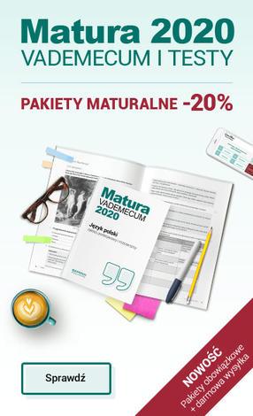informacja o pakietach maturalnych