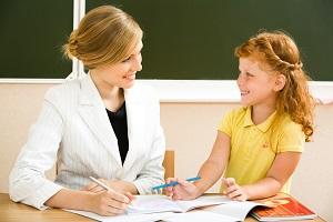 nauczycielka z uczennica