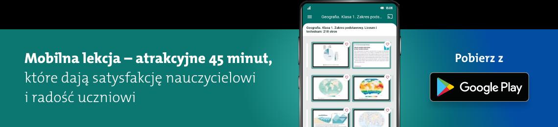 mobilna aplikacja z operonem baner