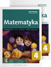 Matematyka klasa 4 podręcznik i zeszyt ćwiczeń