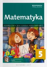 Podręcznik do matematyki do klasy 5 szkoły podstawowej