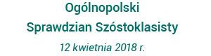 Ogólnopolski Sprawdzian Szóstoklasisty z Operonem 2018