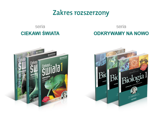 podręczniki do biologii liceum zakres rozszerzony