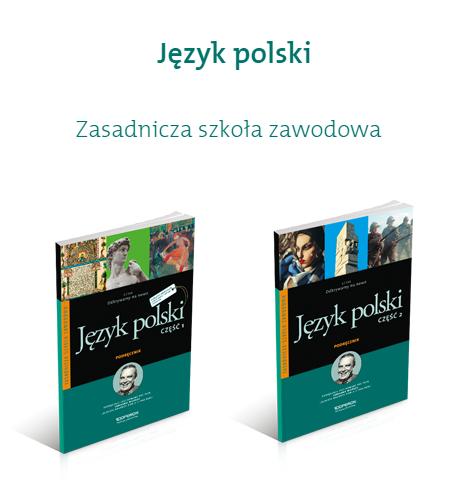 podręczniki z polskiego do zawodówki