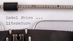 maszyna do pisania nagroda nobla