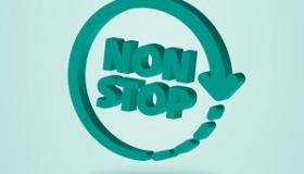 napis non stop