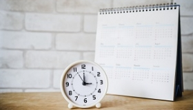 kalendarz i zegar