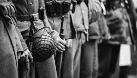 stara fotografia wojenna