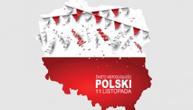 bialo czerwona mapa Polski