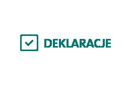 Logo serwisu deklaracje