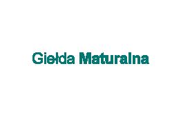 Logo serwisu gielda maturalna
